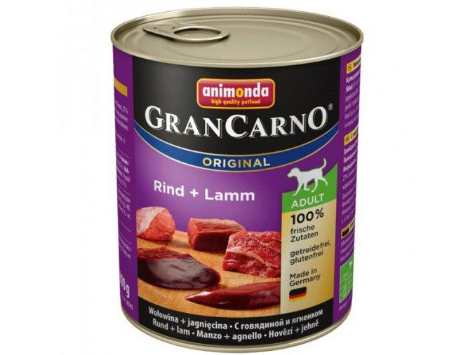 Animonda GranCarno Adult Hovězí + Jehněčí 800g