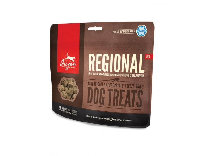 NS treats dog regional red fr lg