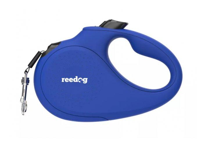 Reedog Senza Basic samonavíjecí vodítko páska modré