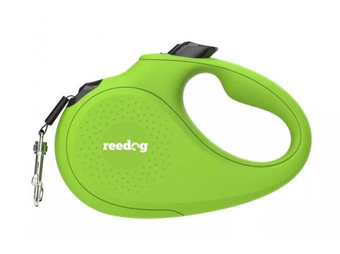Reedog Senza Basic samonavíjecí vodítko páska zelená