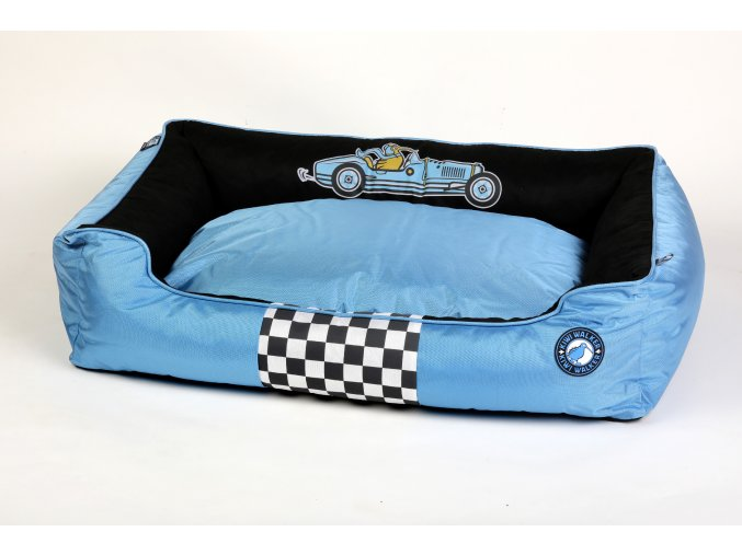 00085 RACING Bugatii Border BED BlueBlack WO