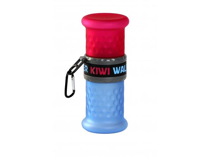00121 Travel Bottle 2in1 PinkBlue WO