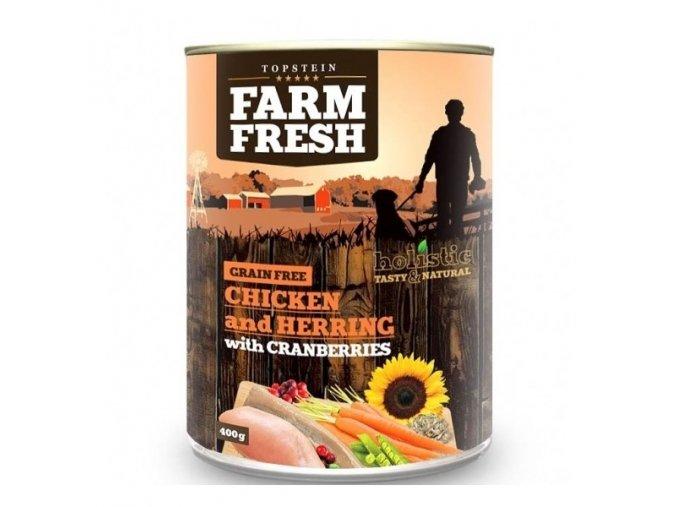 Farm Fresh Chicken with Herring, Cranberry 400g