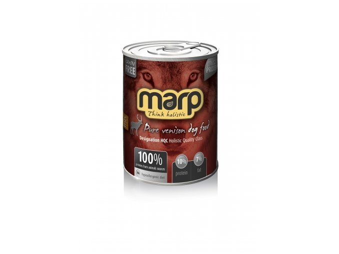 Marp Holistic - Pure Venison Dog Can Food 400 g