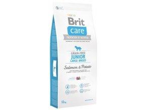 Brit Care Dog Junior LB Salmon&Potato GF