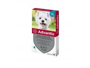 BAYER Advantix Spot on pro psy 4-10kg 1x1ml