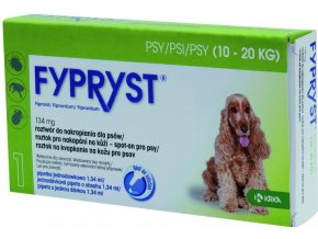 Fypryst spot on Dog M 10-20kg 1x1,34ml