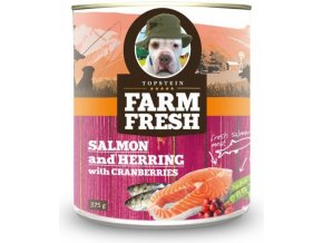 Farm Fresh Salmon and Herring with Peas& Cranberies 375g
