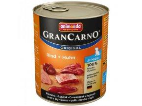 Animonda GranCarno Junior hovězí + kuře 800g