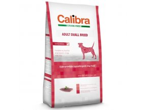 Calibra Dog GF Adult Small Breed Duck 7 kg