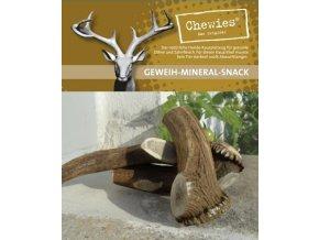 Paroží jelení Chewies Geweih - Snack - M