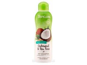 Tropiclean - Šampon Oatmeal - uklidňující - 592 ml