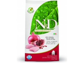 N&D GF DOG Puppy Maxi Chicken & Pomegranate 12 kg