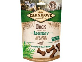CARNILOVE Semi Moist Duck enriched with Rosemary 200 g