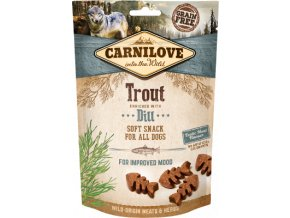 CARNILOVE Semi-Moist Trout enriched with Dill 200 g