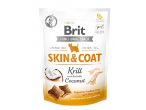 Brit Care Dog Brit Care Dog Functional Snack Skin&Coat Krill 150 g