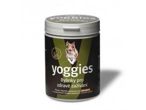 yoggies bylinky pro psy pro zdrave zazivani a prebiotikum 600g