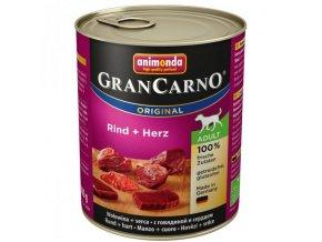 Animonda Grancarno Adult Hovězí maso + Srdce 800 g