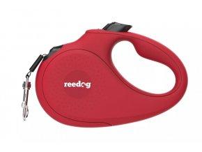 Reedog Senza Basic samonavíjecí vodítko páska červená