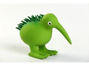 KIWI WALKER - Latexová pískací hračka Kiwi (Barva Zelená, Velikost S)