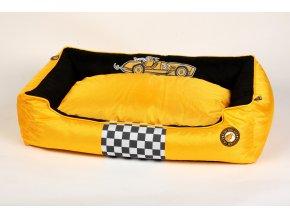 00093 RACING Cigar Border BED OrangeBlack WO