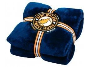 00209 SWEET HOME Blanket MAXI Sailor Blue WP