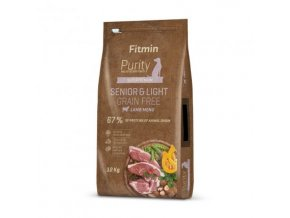 Fitmin Dog Purity Grain Free Senior & Light Lamb