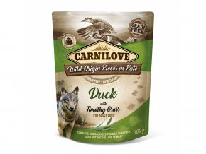 33097 carnilove duck timothy grass