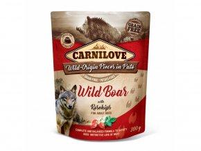 33115 carnilove wild boar rosechips