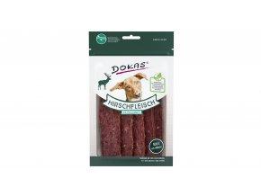 Dokas – Jelení maso plátky 60 g
