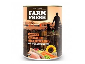 Farm Fresh Chicken with Herring, Cranberry 400g