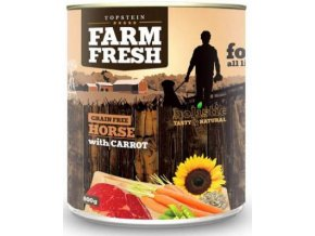 Farm Fresh Horse with Carrots 800 g