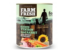Farm Fresh Venison and Rabbit , Sweet Potato 800 g