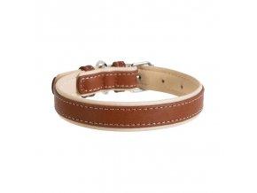 collar sofrt podložený hnědý2