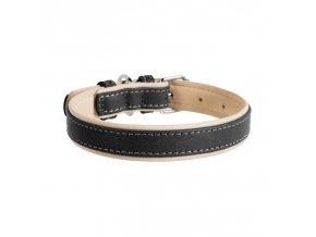 collar soft podložený černý1