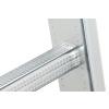 Hliníkový žebřík opěrný jednoduchý HAILO PROFISTEP UNO 12 příček