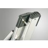 Hliníkový dvoudílný výsuvný žebřík HAILO PROFISTEP DUO 2 x 9 příček