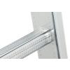 Hliníkový třídílný žebřík výsuvný HAILO PROFISTEP COMBI 3 x 9 příček