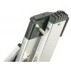 Hliníkový dvoudílný výsuvný žebřík HAILO PROFILOT 2 x 15 příček