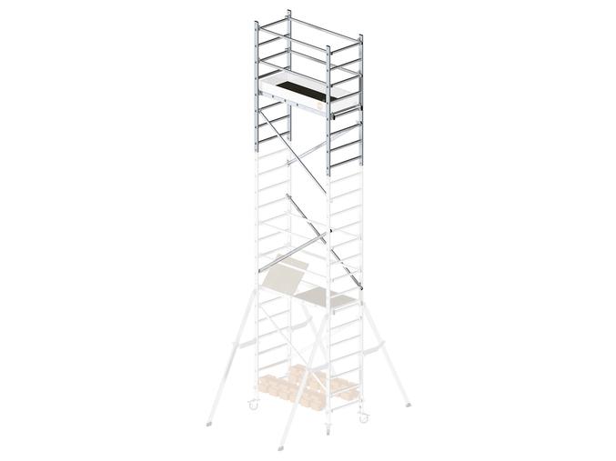 """Hliníkové lešení HAILO PROFISTEP MULTI nástavbový modul """"C"""""""