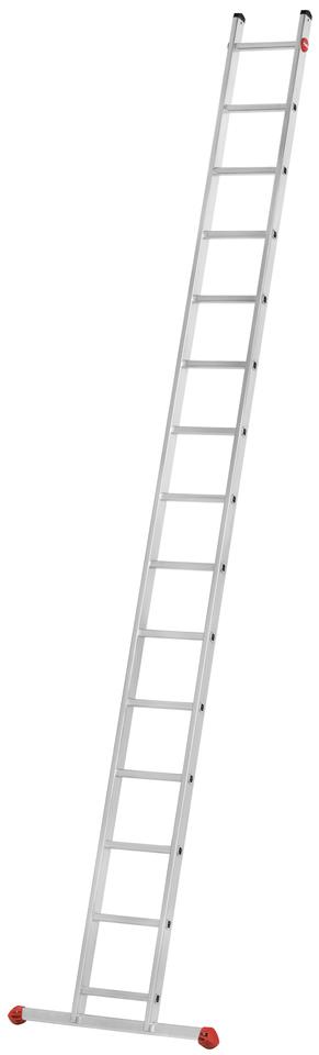 Hliníkový žebřík opěrný jednoduchý HAILO PROFISTEP UNO 15 příček