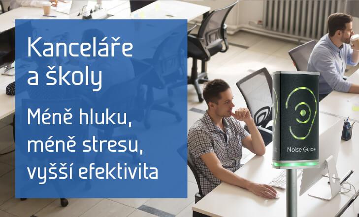 Kanceláře a školy