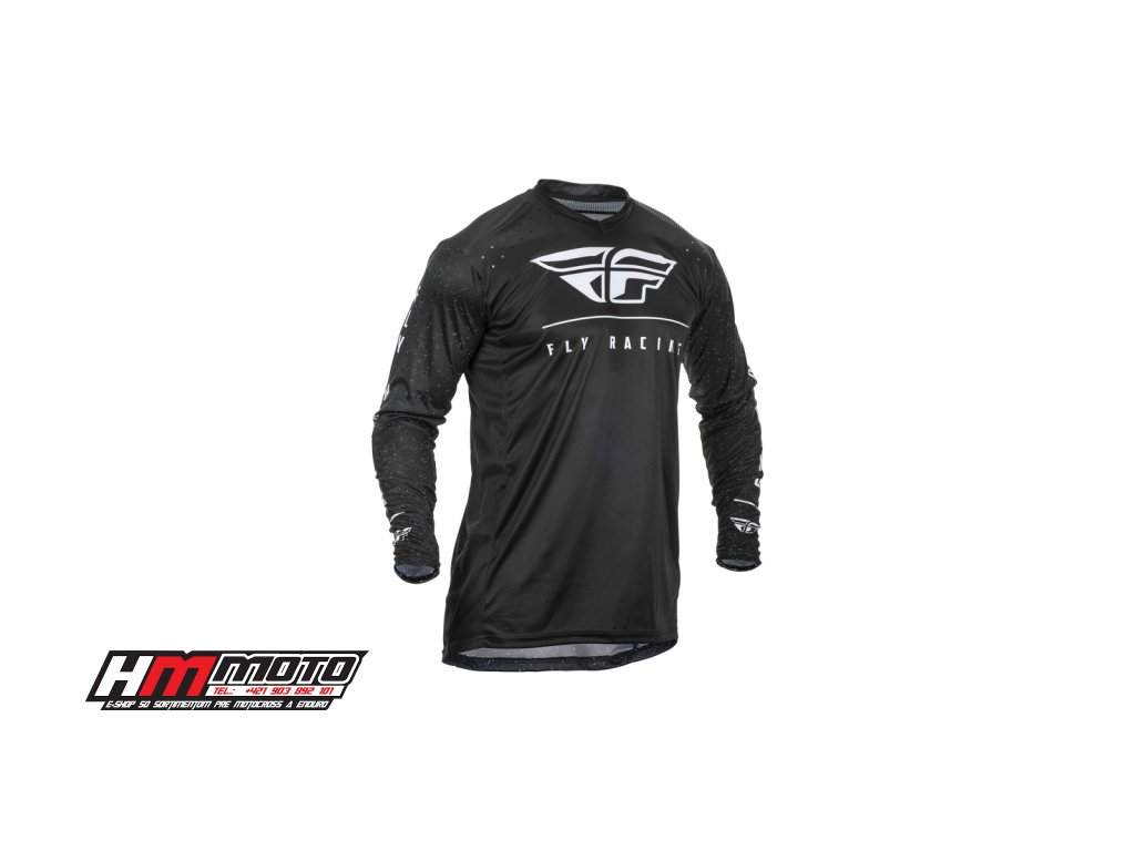 dres lite 2020 fly racing usa cerna bila i406897