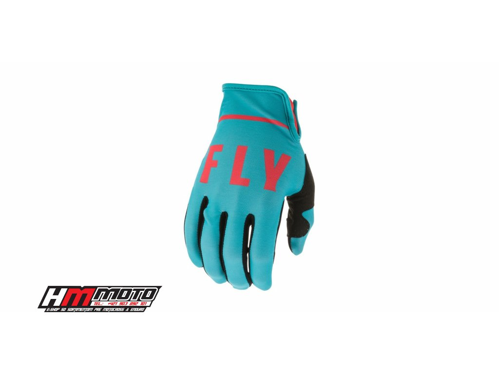 rukavice lite 2020 fly racing usa modra cervena i374508