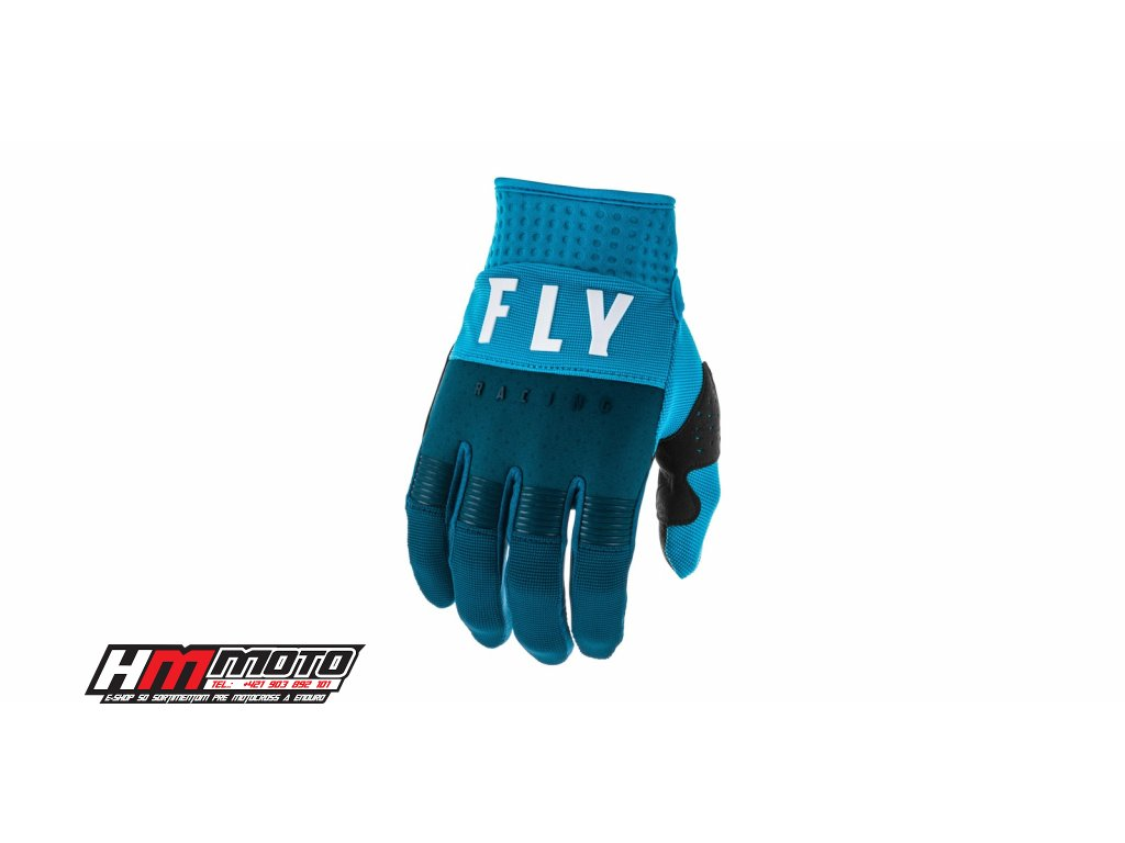 rukavice f 16 2020 fly racing usa navy modra bila i374814