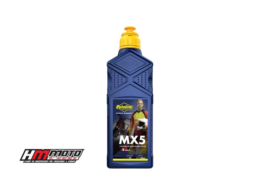 putoline olej mx5 do benzinu 2t 1l