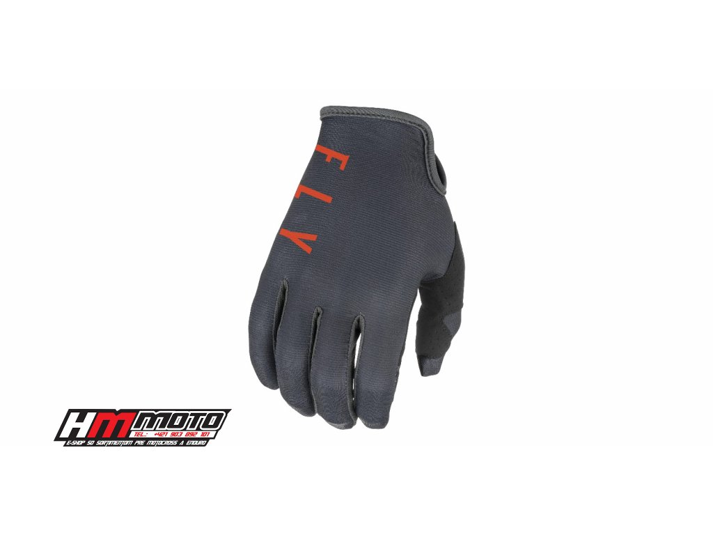 rukavice lite 2021 fly racing usa seda oranzova cerna i448478