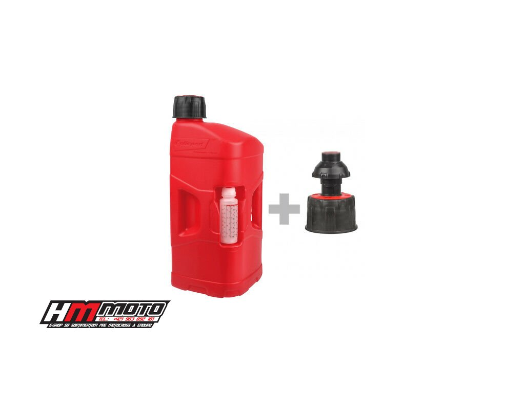 10626 39403 vyr 39402 Polisport Pro Octane 20L Red Fuel Can