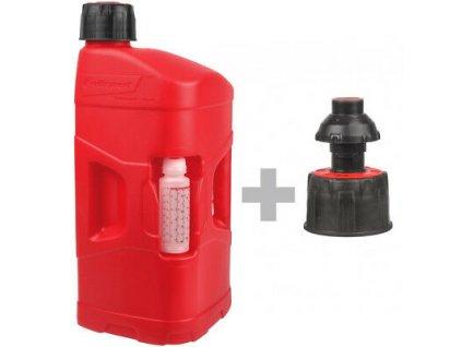 10626 39403 vyr 39402 Polisport Pro Octane 20L Red Fuel Can