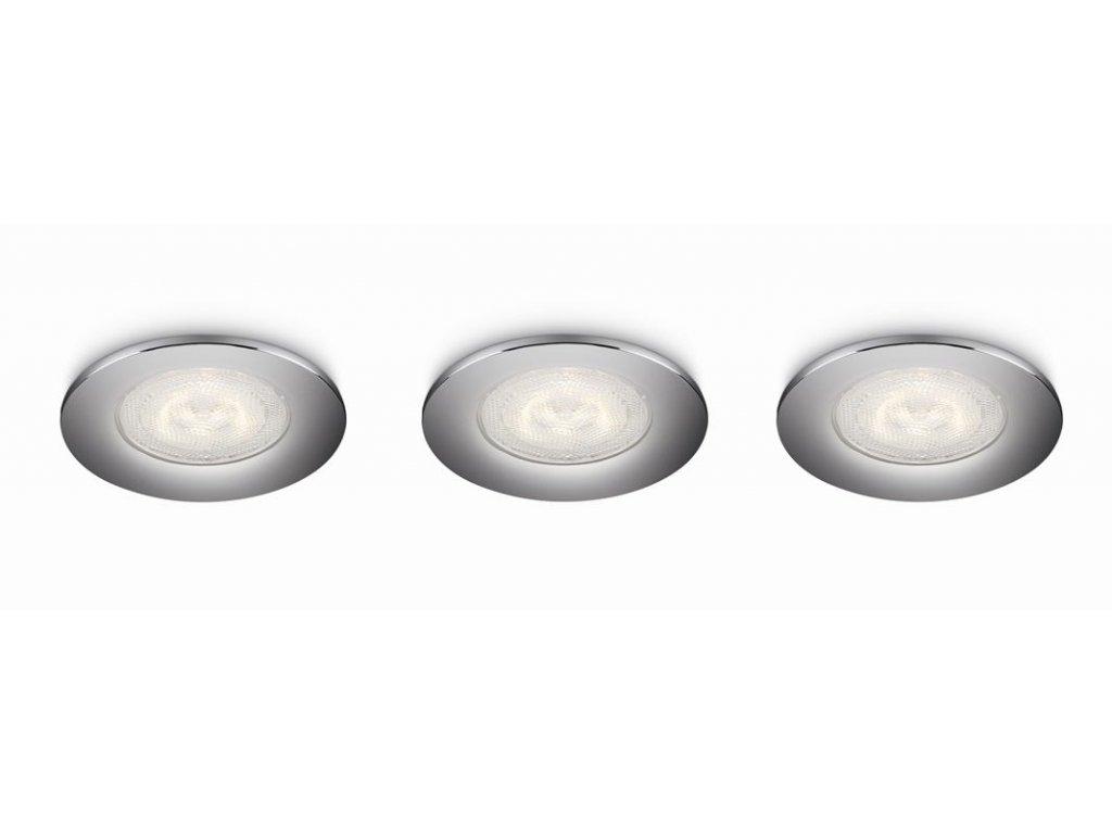 LED zápustná bodová svítidla a světla